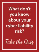 Cyber liability quiz