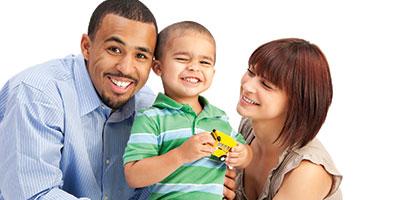 Multi-racial family