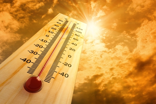 When workers are required to perform their duties in warm temperatures, they are at risk for heat stress.