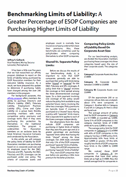Benchmarking Limits of Liability